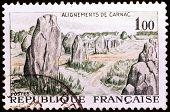 Carnac Stones Stamp