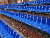 The seats of tribunes