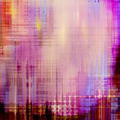 Computer designed highly detailed vintage texture or background