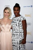 LOS ANGELES - AUG 23:  Taryn Manning, Uzo Aduba at the Television Academy's Perfomers Nominee Reception at Pacific Design Center on August 23, 2014 in West Hollywood, CA