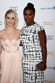LOS ANGELES - AUG 23:  Taryn Manning, Uzo Aduba at the Television Academy's Perfomers Nominee Recept