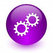 gear internet icon