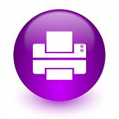 printer internet icon