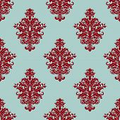 Retro maroon or crimson seamless pattern