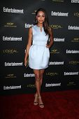 LOS ANGELES - AUG 23:  Andrew J. West, Amber Stevens at the 2014 Entertainment Weekly Pre-Emmy Party