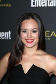 LOS ANGELES - AUG 23:  Hayley Orrantia at the 2014 Entertainment Weekly Pre-Emmy Party at Fig & Oliv