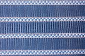 Table Clothes - Blue Fabric Cotton