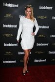 LOS ANGELES - AUG 23:  Kym Johnson at the 2014 Entertainment Weekly Pre-Emmy Party at Fig & Olive on