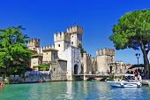 picture of lagos  - scenery of Italy series  - JPG