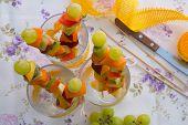 Fruit Salad Skewers