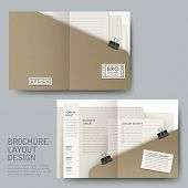 Modern Half-fold Template For Business Advertising