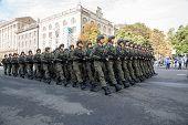 Parade In Kiev