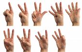 number sign language