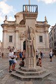 Luza Square, Dubrovnik, Croatia.