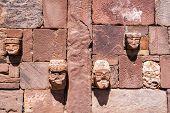 Faces In Tiwanaku