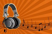 Acoustic Earpiecess And Musical Notes