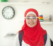 picture of hijabs  - Muslim girl with hijab - JPG