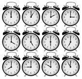 Set Of Alarm Clocks