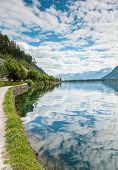 Zell Am See Lake In Austria