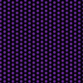 Halloween Seamless Dots Pattern Purple And Black