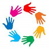 Hand Print logo