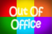Out Of Office Concept
