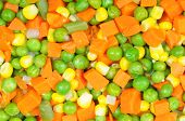 Boiled Diced Vegetables