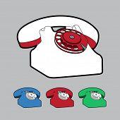 classic wire telephone