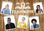 Diverse Group of People and Teamwork Concept
