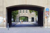 Entrance University of Mainz