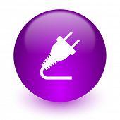 plug internet icon