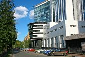 Modern Business Building Gazprom In Nizhny Novgorod