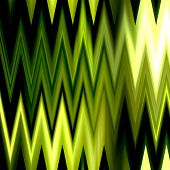 art abstract colorful zigzag geometric seamless pattern background in gold and green colors