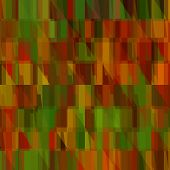art abstract colorful geometric seamless pattern; tiled background in gold, red, orange, green and b