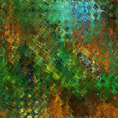 art abstract geometric textured bright green and brown background