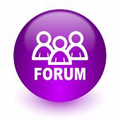 forum internet icon