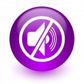 mute internet icon