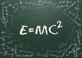 stock photo of einstein  - illustration of e - JPG