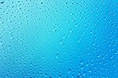 Blue Abstract Water Drops