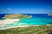 Ballos beach .Crete,Greece