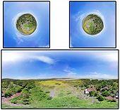 360 panorama set