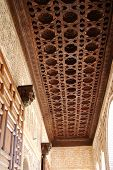Moorish ceiling, Palace of Alhambra.