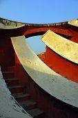 Jantar Mantar Delhi Angles Stairs And Sky