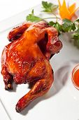 Chinese Cuisine - Baked Chicken with Spicy Sauce