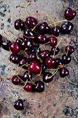 Black cherries