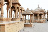 foto of jainism  - Bada Bagh Cenotaph in Jaisalmer - JPG