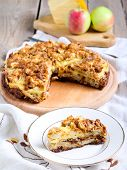 Apple And Cheese Tart
