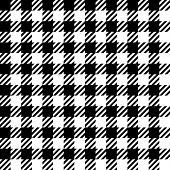 Gingham pattern, seamless vector.
