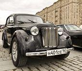 Russian Retro Car Moskvich