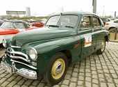 Retro Car Pobeda (victory)
